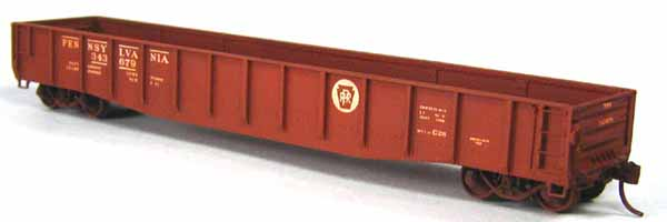 HO Scale PRR Class G28 Gondola Released